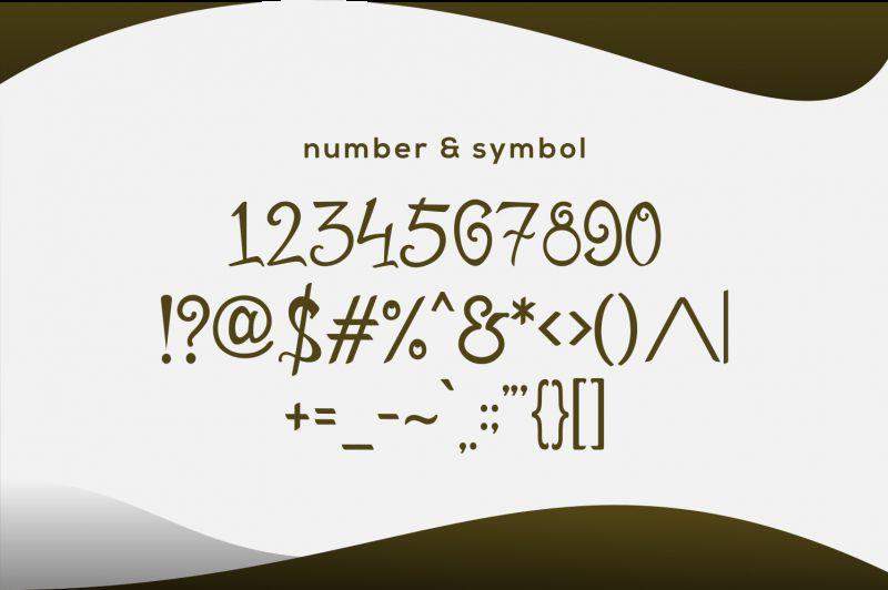 Mirinia Script Font-3
