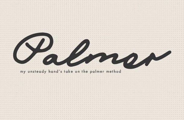 Mix Palmer Script Font