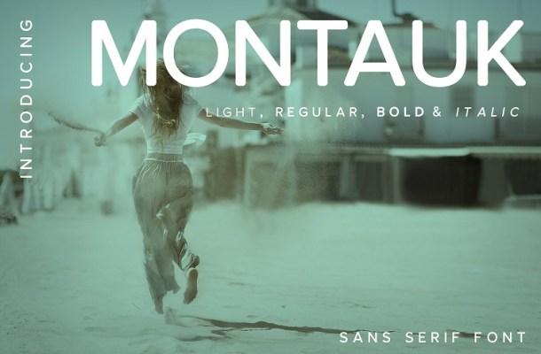 Montauk Font Family