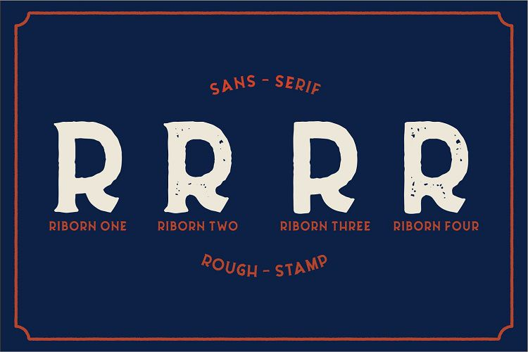 Riborn Typeface-3
