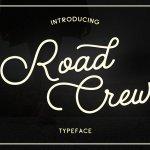 Road Crew Script Font
