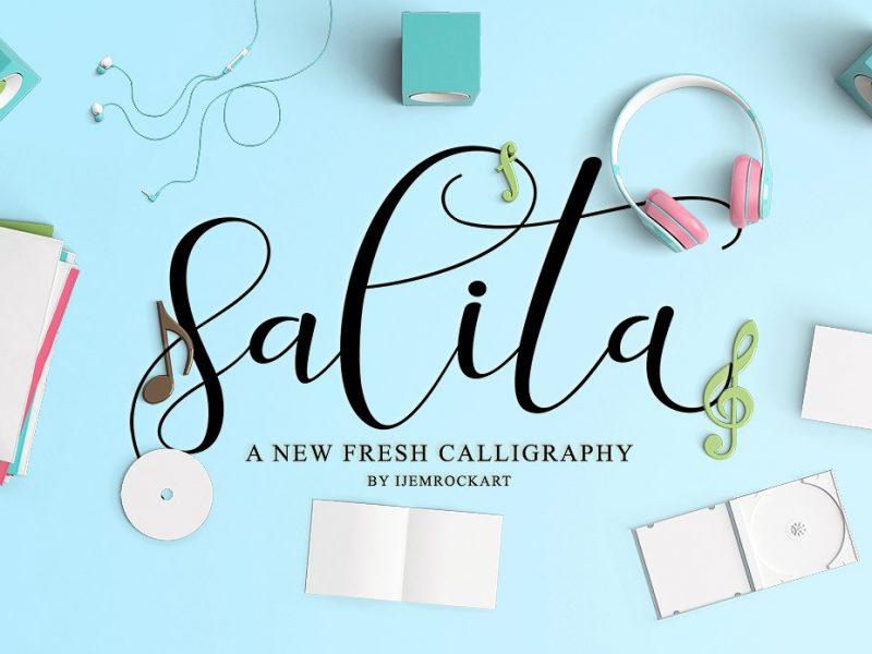 Salita Script Font
