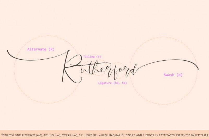 Santeria Calligraphy Font-3