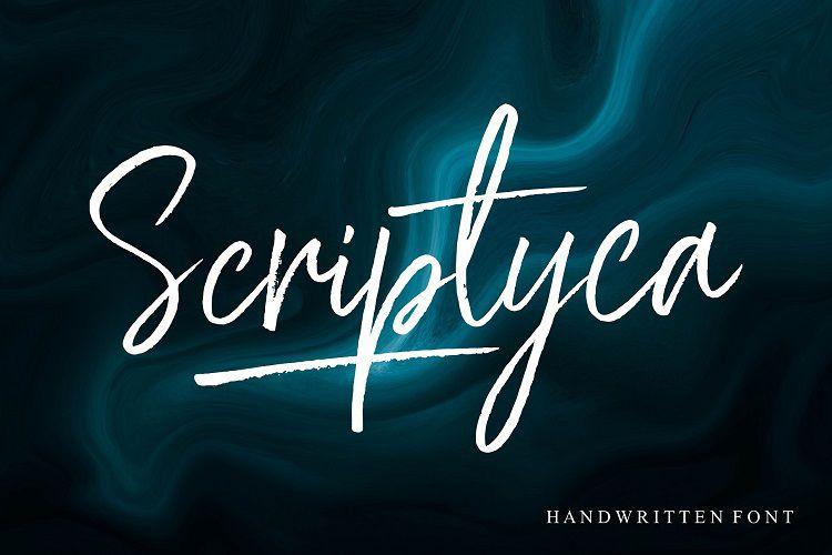 Scriptyca Brush Font