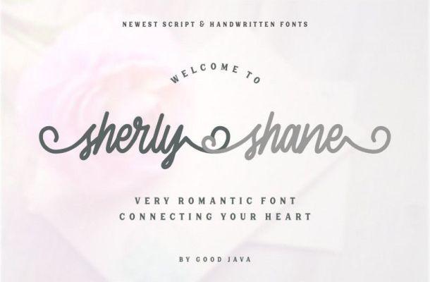 Sherly Shane Script Font