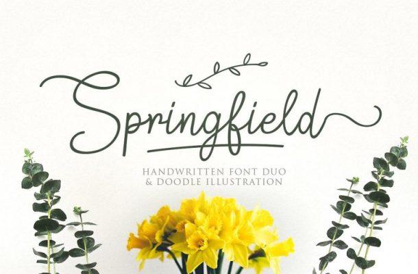 Springfield Script Font