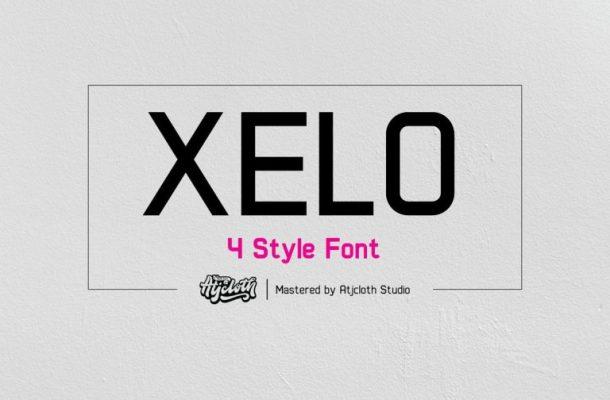 Xelo Sans Serif Font