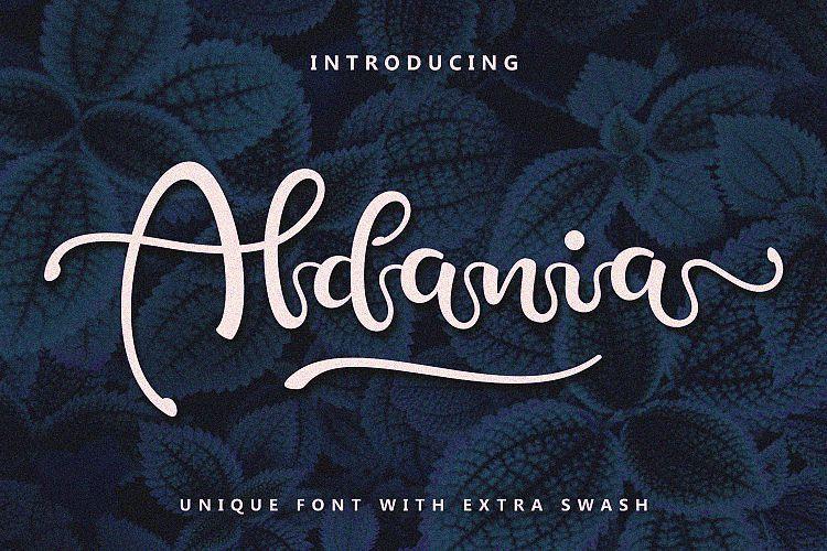 Aldania Script Font