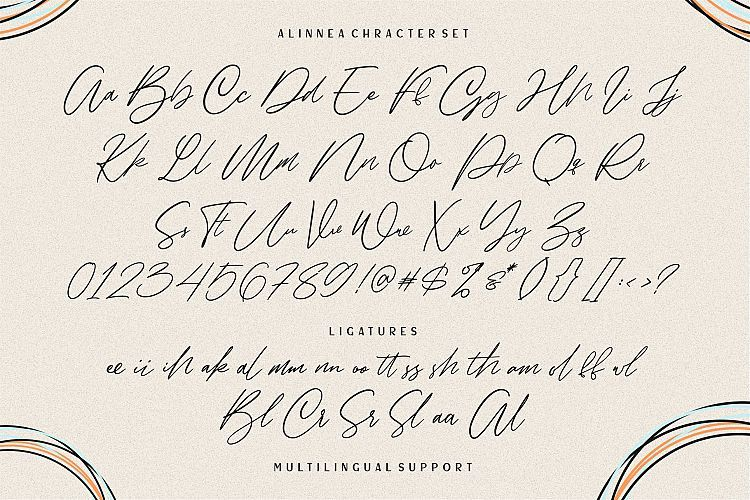 Alinnea Signature Font-3
