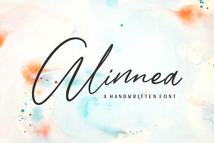 Alinnea Signature Font