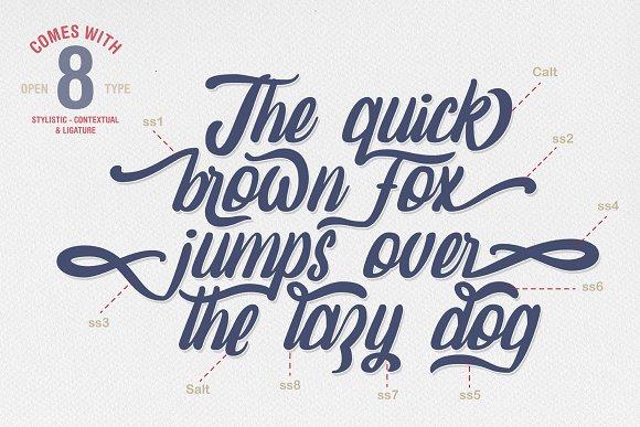 Amaranthine Script Font-2