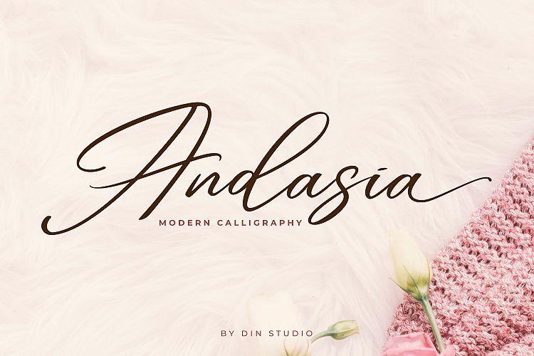 Andasia Script Font