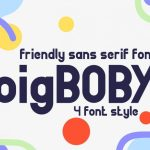 BigBOBY Typeface