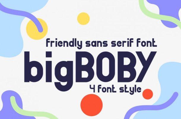 BigBOBY Typeface