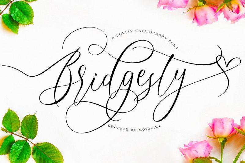 Bridgesty Script Font
