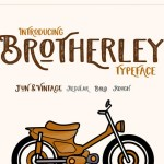 Brotherley Typeface