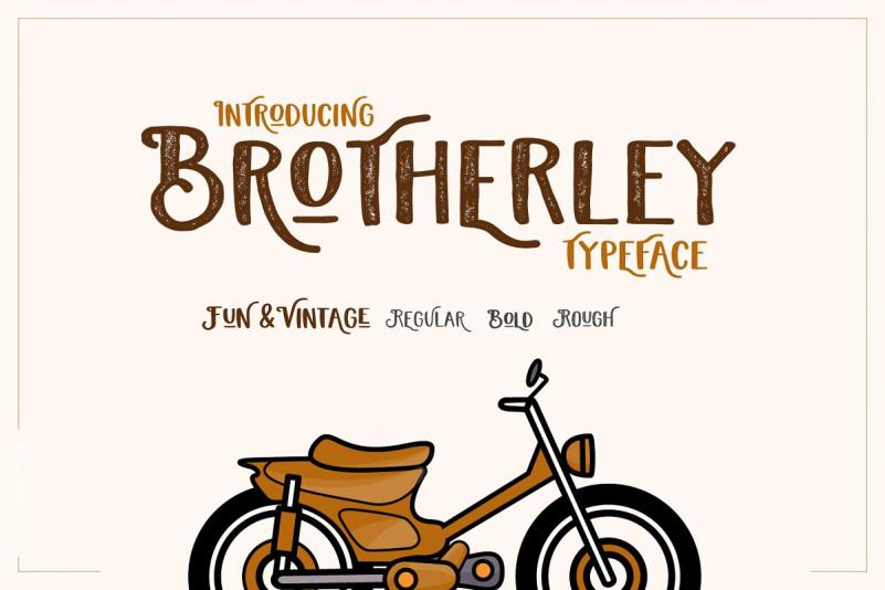 Brotherley Typeface