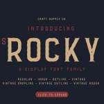 CS Rocky Font