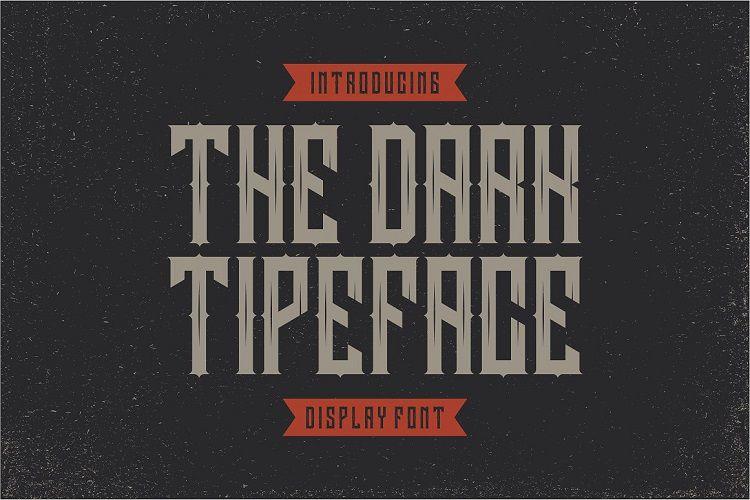 Darkrise Typeface-2