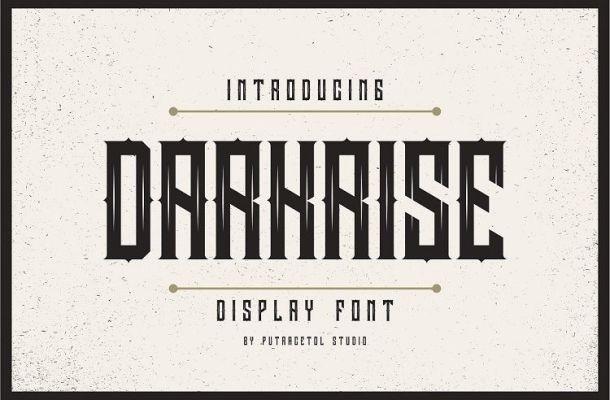 Darkrise Typeface