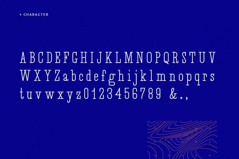 Desuka Slab Font-2