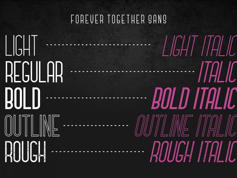 Forever Together Romantic Font-2