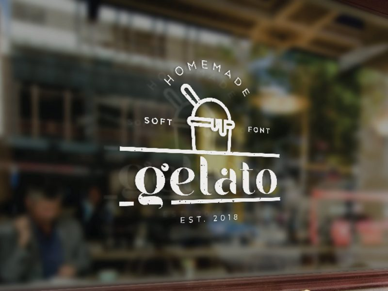 Gelato Soft Typeface-3