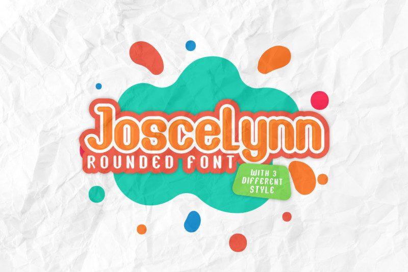 Joscelynn Fun Font