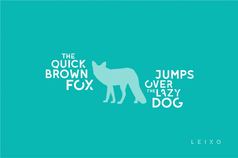 Leixo Stencil Typeface-2