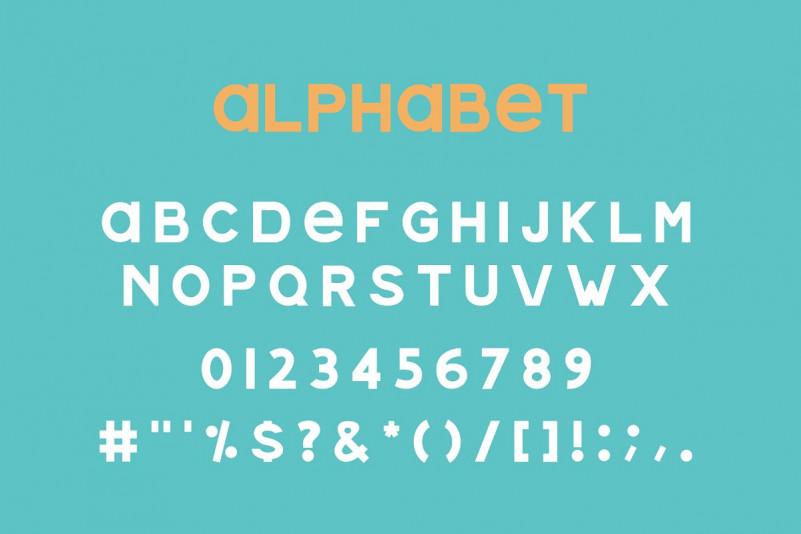 Mannie Sans Serif Font-2