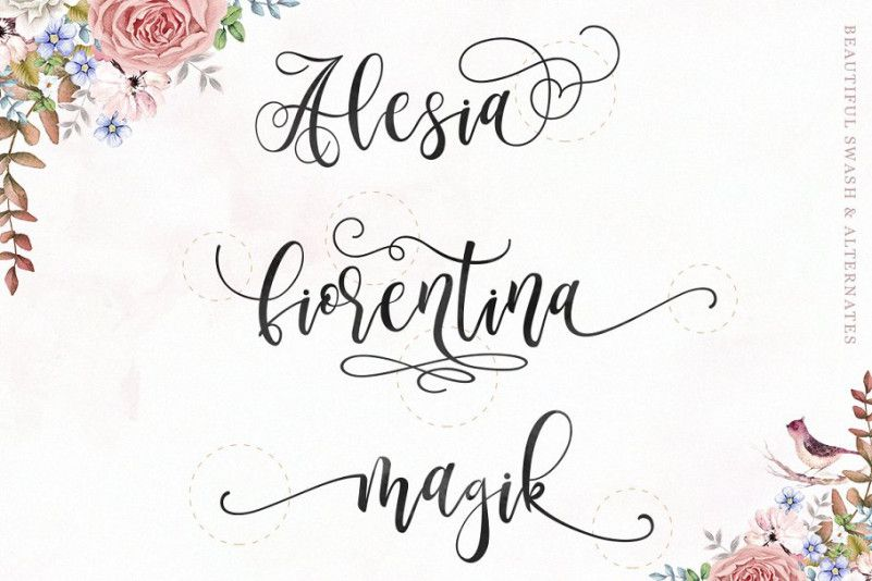 Marmia Calligraphy Font-2