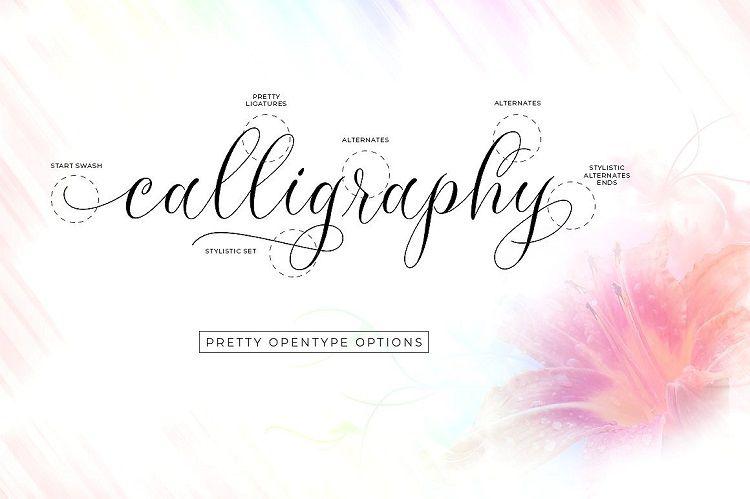 Molandika Calligraphy Font-2