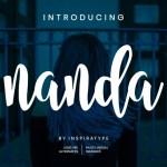 Nanda Bold Script Font