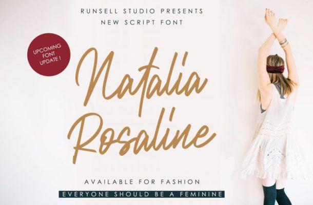 Natalia Rosaline Font Duo