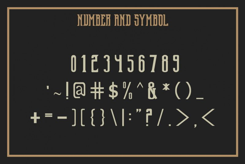 Old Excalibur Typeface-4