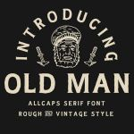 Old Man Typeface