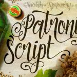 Patronia Calligraphy Font