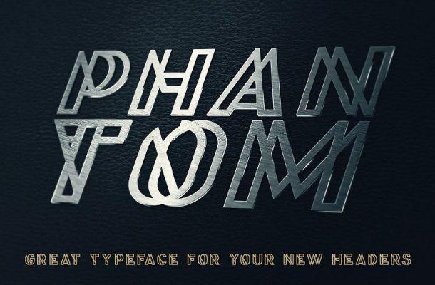 Phantom Display Font