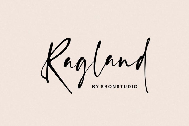 Ragland Handwritten Font