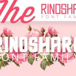 Rinoshare Font Family