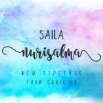 Saila Nurissalma Script Font