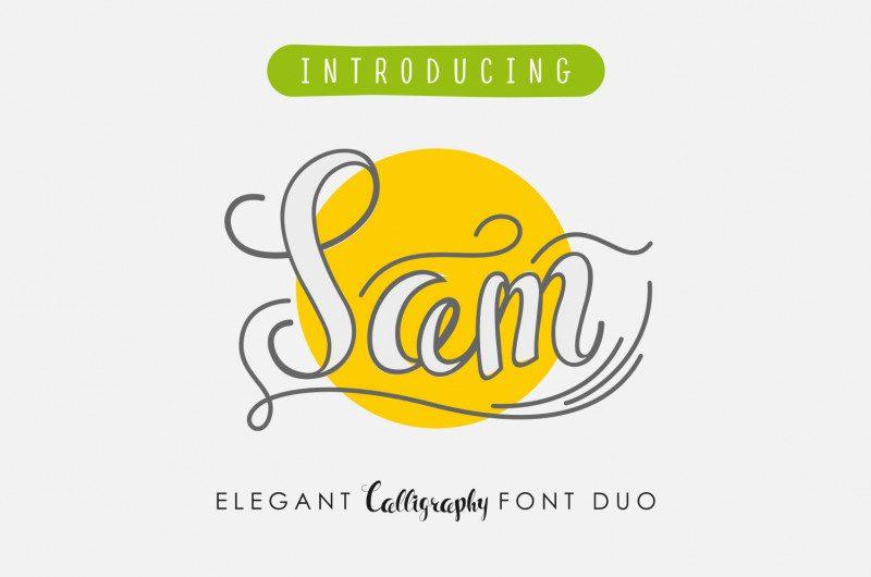 Sam Script Font