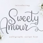Sweety Amour Script Font