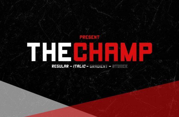 The Champ Font