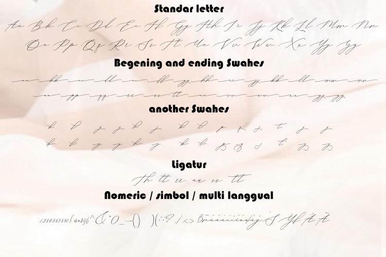 Vineshia Jonhson Handwritten Font-2