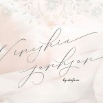 Vineshia Jonhson Handwritten Font