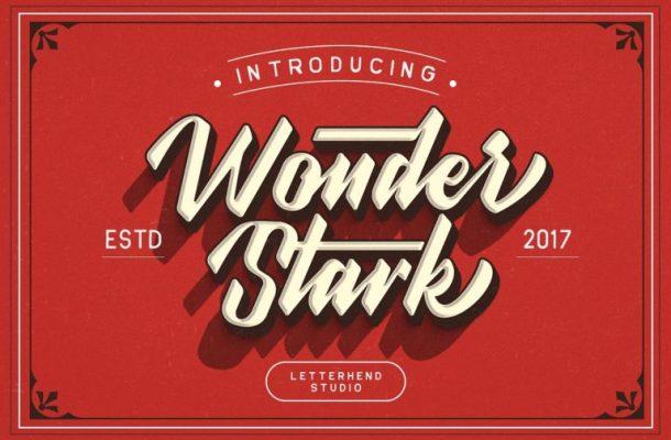 Wonder Stark Typeface