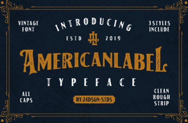 American Typeface