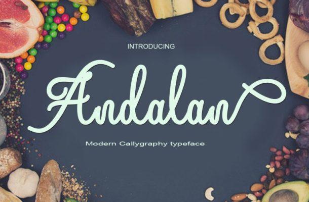 Andalan Script Font