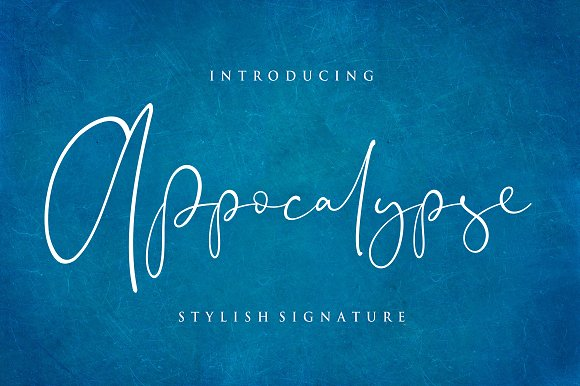 Appocalypse Handwriting Font